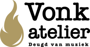 Vonk atelier - deugd van muziek! logo